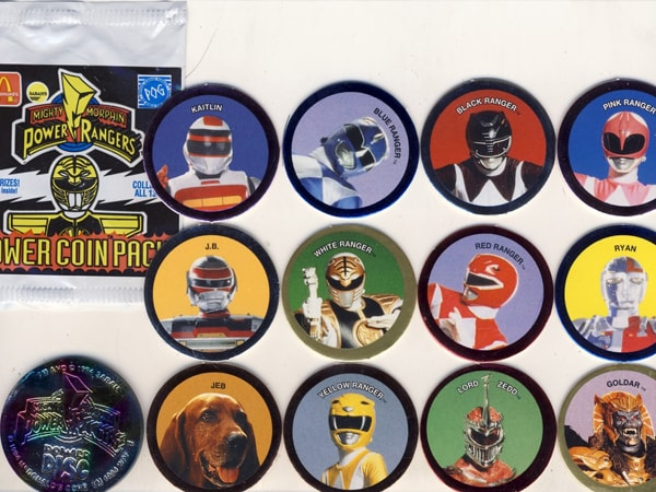 Power Rangers Pogs - Fix A Bad Mood